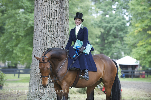 Penny and Garnet at Upperville